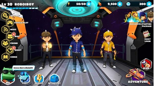 download game boboiboy mod